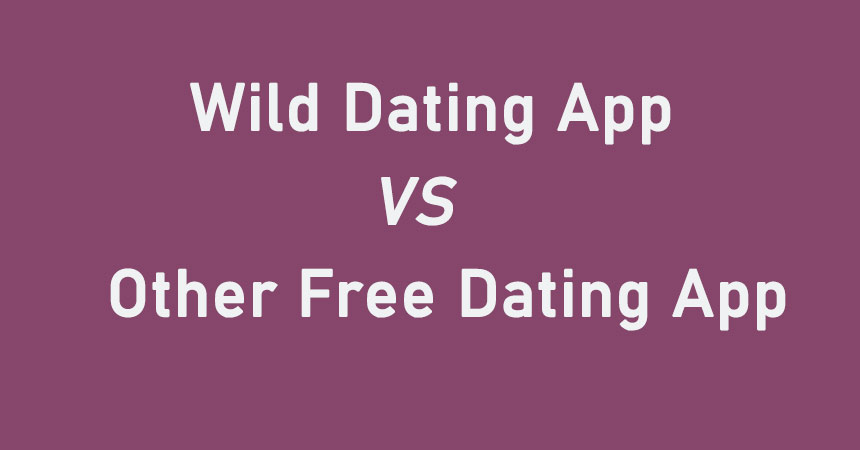 Wild VS other free dating apps
